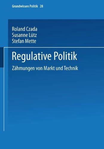 Regulative Politik   2003 9783810028594 Front Cover