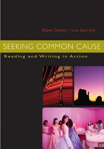 Seeking Common Cause Reading and Writing in Action  2008 edition cover
