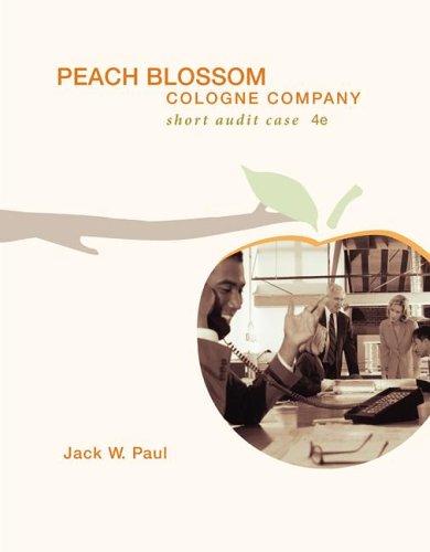 Peach Blossom Cologne Company  4th 2007 edition cover