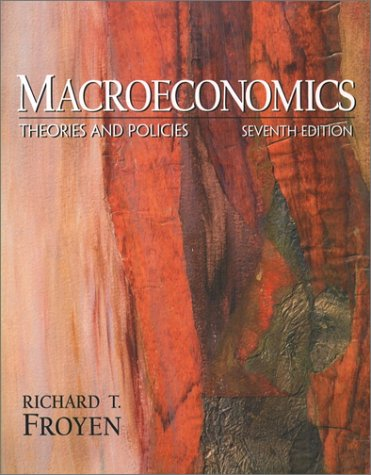 Macroeconomics Theories and Policies 7th 2002 edition cover