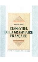 Essentiel de la Grammaire Francaise and Travaux Pratiques Package  3rd 1995 9780130807595 Front Cover