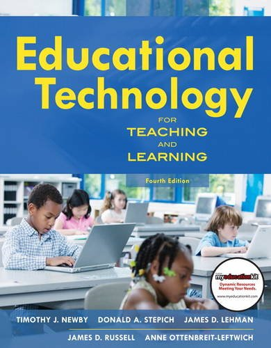 Educational Technology for Teaching and Learning  4th 2011 edition cover