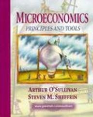 Microeconomics Principles and Tools  1998 9780137428595 Front Cover