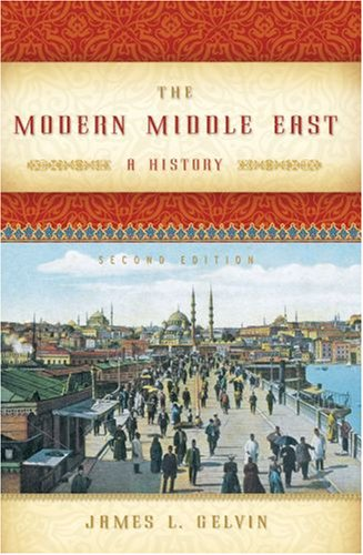 Modern Middle East A History 2nd 2007 9780195327595 Front Cover