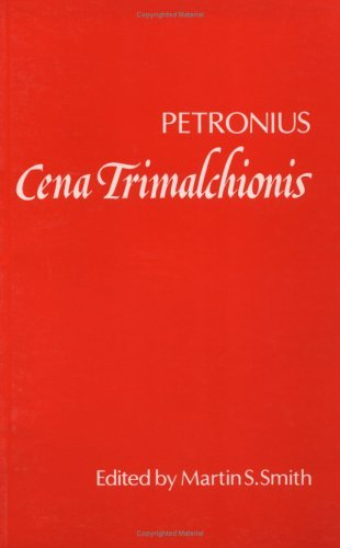 Cena Trimalchionis   1975 9780198144595 Front Cover