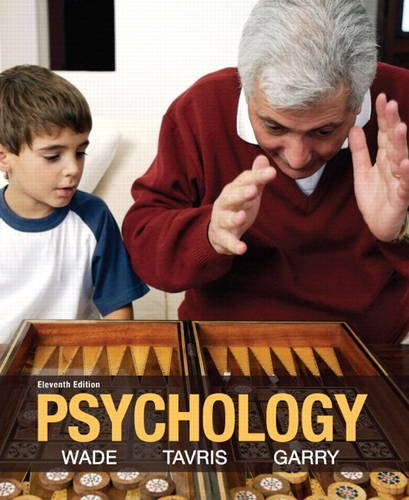 Psychology  11th 2014 edition cover