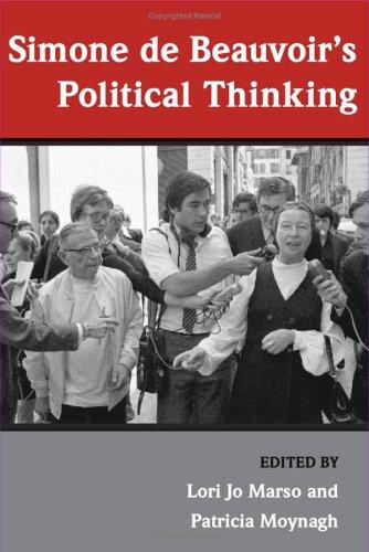Simone de Beauvoir's Political Thinking   2006 9780252073595 Front Cover