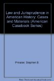 Cases and Materials on Law and Jurisprudence in American History 3rd 1995 9780314063595 Front Cover
