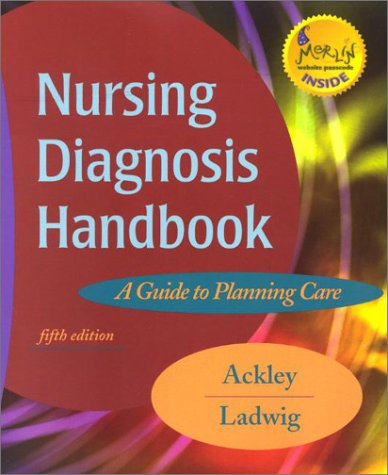 Nursing Diagnosis Handbook A Guide to Planning Care 5th 2001 edition cover