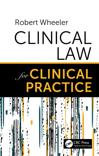 Cover art for Clinical Law for Clinical Practice, 1st Edition