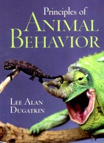 Principles of Animal Behavior   2003 edition cover