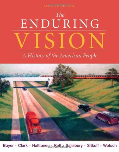 Enduring Vision A History of the American People 7th 2011 edition cover