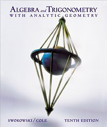 Algebra and Trigonometry with Analytic Geometry  10th 2002 9780534377595 Front Cover