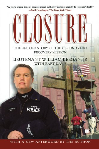 Closure The Untold Story of the Ground Zero Recovery Mission  2007 edition cover