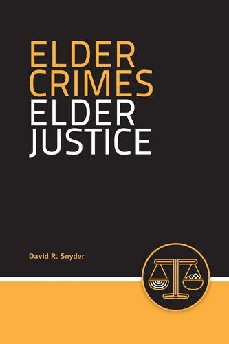 Elder Crimes, Elder Justice   2014 edition cover