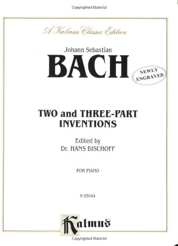 Two- and Three-Part Inventions   1985 edition cover