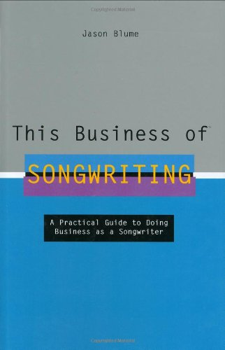 This Business of Songwriting   2006 edition cover