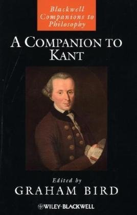 Companion to Kant   2010 9781405197595 Front Cover