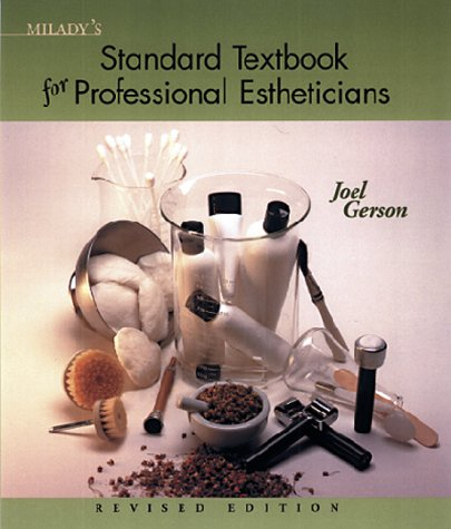 Milady's Standard Textbook for Professional Estheticians  8th 1999 edition cover