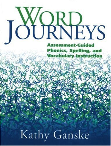Word Journeys Assessment-Guided Phonics, Spelling, and Vocabulary Instruction  2000 edition cover