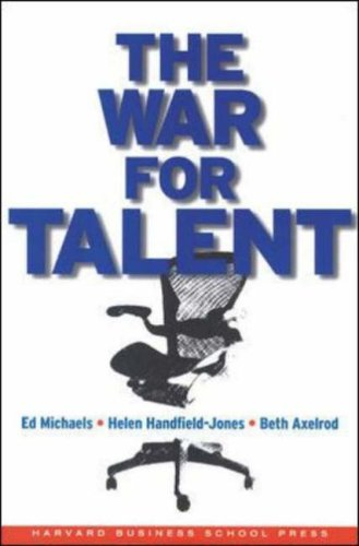 War for Talent   2001 edition cover