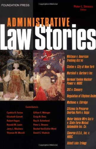 Administrative Law Stories   2005 edition cover