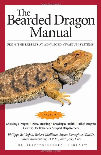 Bearded Dragon Manual   2004 edition cover
