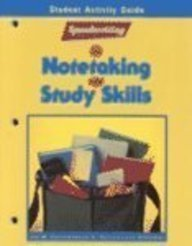 Speedwriting for Notetaking and Study Skills, Student Activity Guide  1990 edition cover