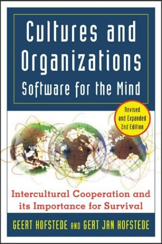 Cultures and Organizations Software for the Mind 2nd 2005 (Revised) edition cover
