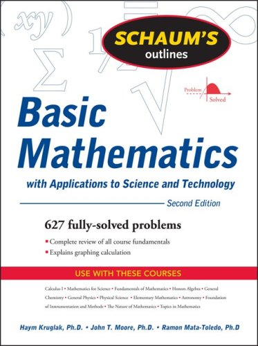 Basic Mathematics With Applications to Science and Technology 2nd 2009 edition cover