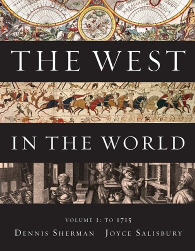 West in the World to 1715  4th 2011 edition cover