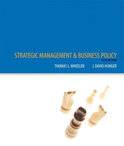 Strategic Management and Business Policy Concepts and Cases 10th 2006 (Revised) edition cover