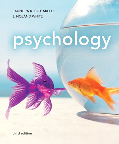 Psychology  3rd 2012 edition cover