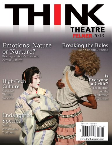 THINK Theatre   2013 edition cover