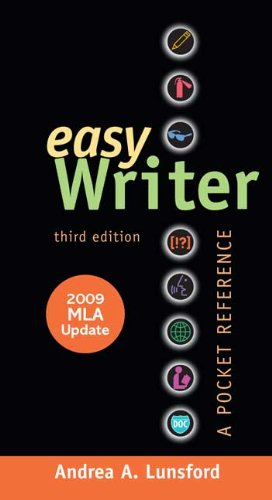 EasyWriter with 2009 3rd 2009 (Revised) edition cover