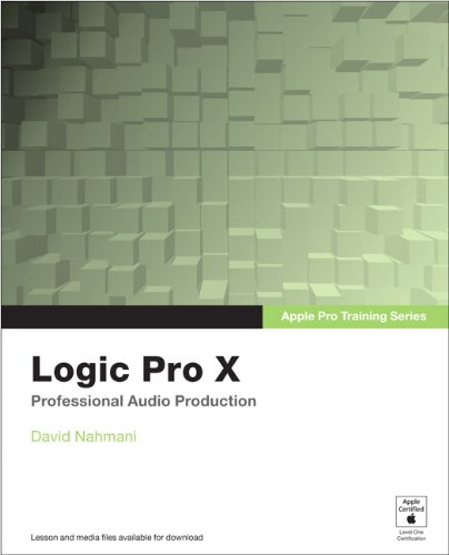 Logic Pro X Professional Music Production  2014 edition cover