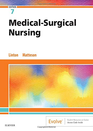 Medical-Surgical Nursing  7th 2020 9780323554596 Front Cover