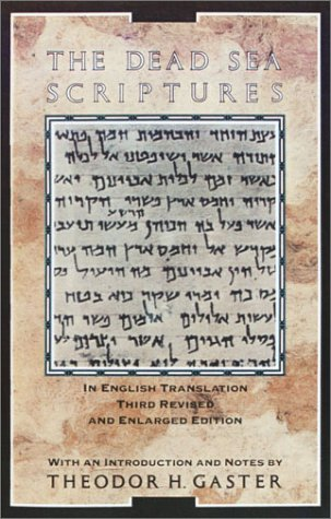 Dead Sea Scriptures  2nd edition cover