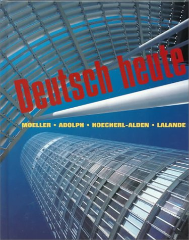 Deutsch Heute Grundstufe 7th 2000 (Annotated) edition cover