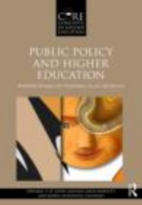 Public Policy and Higher Education Reframing Strategies for Preparation, Access, and Success  2013 edition cover