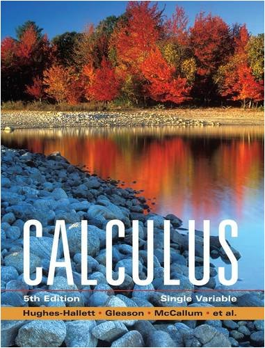 Calculus Single Variable 5th 2009 edition cover