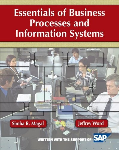 Essentials of Business Processes and Information Systems   2010 edition cover