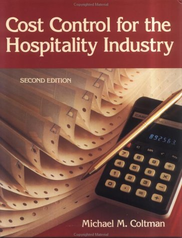 Cost Control for the Hospitality Industry  2nd 1989 (Revised) edition cover