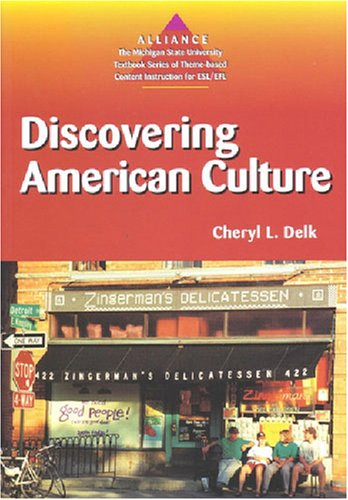 Discovering American Culture  N/A 9780472083596 Front Cover