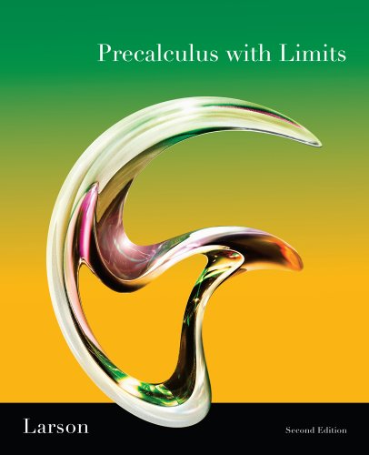 Precalculus with Limits Pre-AP HS Edition, Level 1 1st 2010 9780538736596 Front Cover