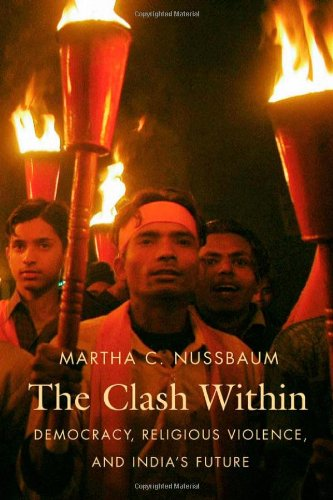 Clash Within Democracy, Religious Violence, and India's Future  2007 edition cover