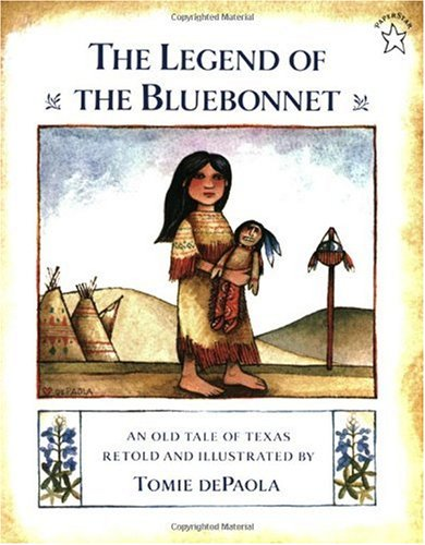 Legend of the Bluebonnet An Old Tale of Texas  1983 edition cover