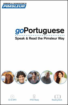 Goportuguese (Brazilian): Speak and Read the Pimsleur Way, 8 Lessons + Reading  2009 edition cover