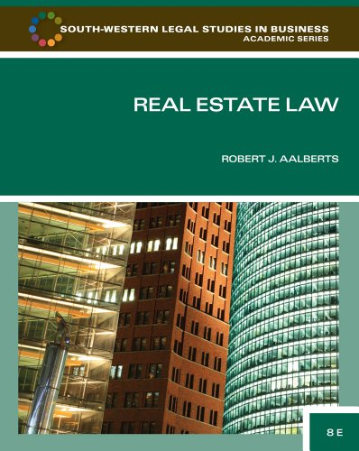 Real Estate Law  8th 2012 edition cover
