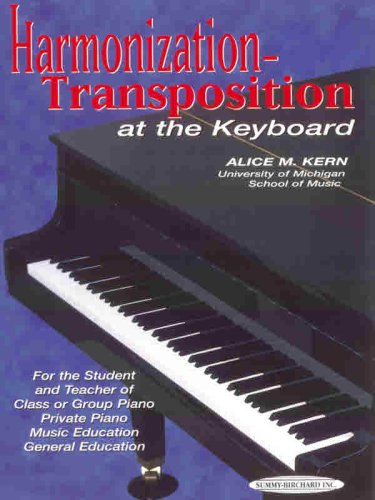 Harmonization-Transposition at the Keyboard   1994 (Revised) edition cover